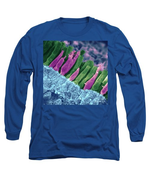 Rods And Cones In Retina Long Sleeve T-Shirt