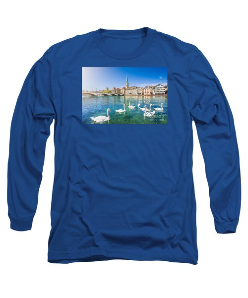 Zurich Long Sleeve T-Shirt by JR Photography