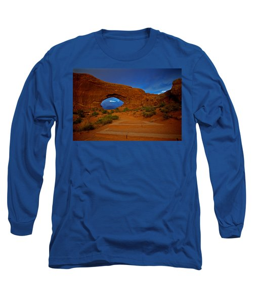 Long Sleeve T-Shirt featuring the photograph Arches by Evgeny Vasenev