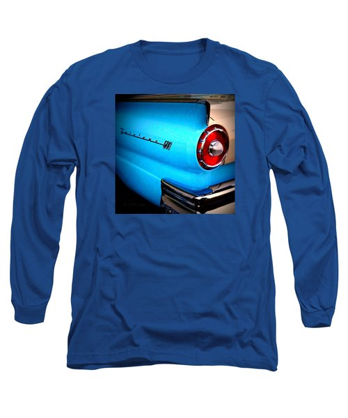 57 Ford Fairlane  Long Sleeve T-Shirt by Nick Kloepping