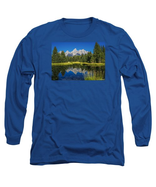 #5700 - Shwabakers Landing, Wyoming Long Sleeve T-Shirt