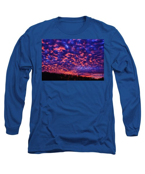 Long Sleeve T-Shirt featuring the photograph Appalachian Sunset Afterglow by Thomas R Fletcher