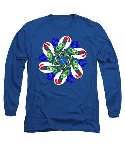11209 Six - 6 - Sechs - Six - Seis - Sex - Six - Jav - Vi Long Sleeve T-Shirt