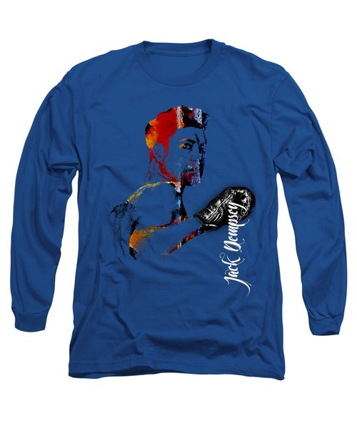 Jack Dempsey Collection Long Sleeve T-Shirt by Marvin Blaine