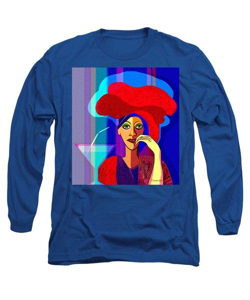 909 -   Summer   Cocktail Long Sleeve T-Shirt