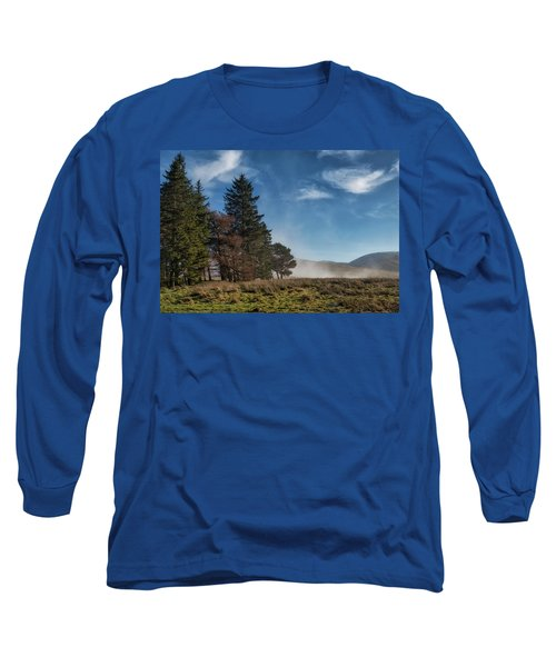 Long Sleeve T-Shirt featuring the photograph A Beautiful Scottish Morning by Jeremy Lavender Photography