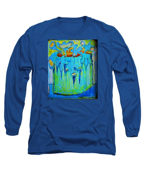 A Bucket Of Flowers Long Sleeve T-Shirt