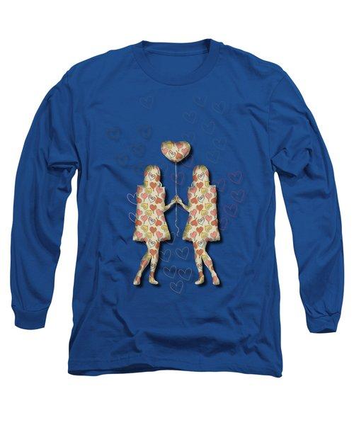 A Girl Loves A Girl Long Sleeve T-Shirt
