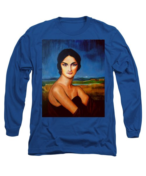 A Lady Long Sleeve T-Shirt