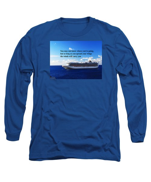 Long Sleeve T-Shirt featuring the photograph A Life Journey by Gary Wonning
