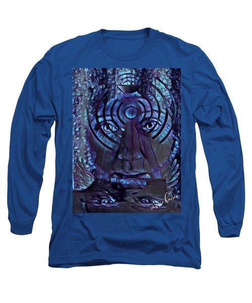 A Medium For Other People's Trauma Long Sleeve T-Shirt by Vennie Kocsis