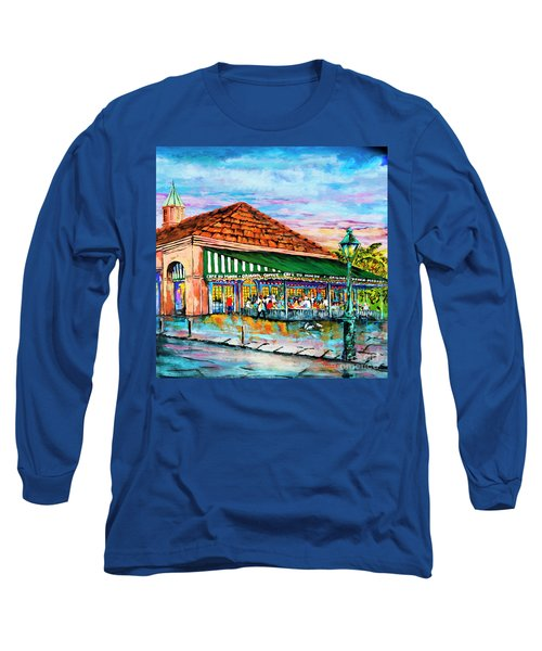 A Morning At Cafe Du Monde Long Sleeve T-Shirt