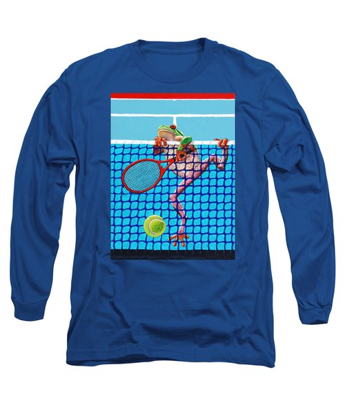 A Net Violation Long Sleeve T-Shirt