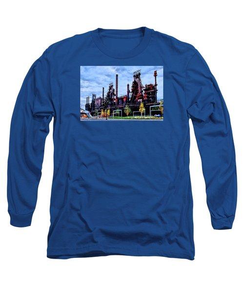 A New Era - Bethlehem Pa Long Sleeve T-Shirt by DJ Florek