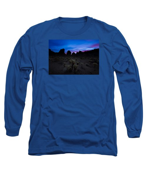 A Nights Dream  Long Sleeve T-Shirt by Tassanee Angiolillo