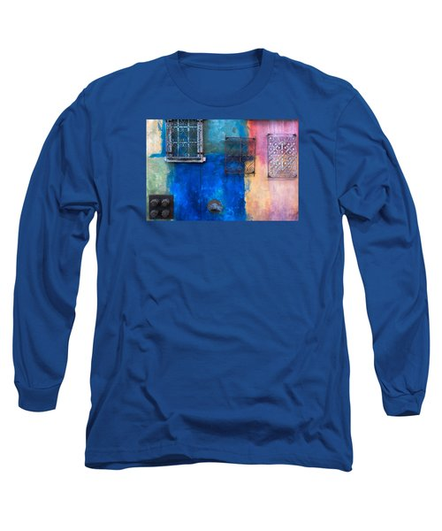 A Painted Wall Long Sleeve T-Shirt by Catherine Lau