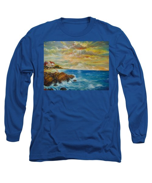 A Place In My Dreams Long Sleeve T-Shirt by Emery Franklin
