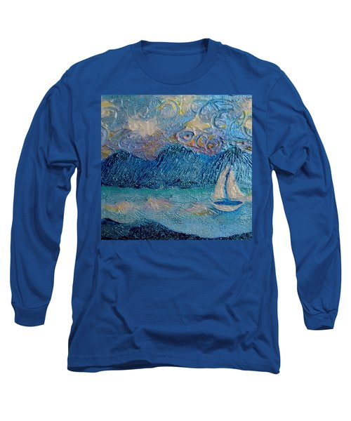 A Sailboat For The Mind #2 Long Sleeve T-Shirt
