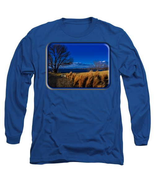 A Side Path Long Sleeve T-Shirt by Mark Myhaver