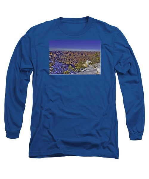 A Snowy Grand Canyon Long Sleeve T-Shirt
