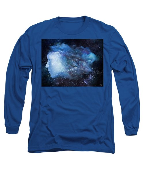 Long Sleeve T-Shirt featuring the digital art A Soul In The Sky by Gun Legler