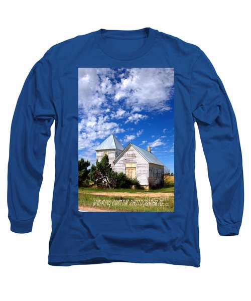 Abandoned Building Long Sleeve T-Shirt