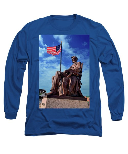 Abraham Lincoln Birthplace 002 Long Sleeve T-Shirt by George Bostian