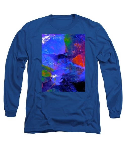 Abstract 112 Long Sleeve T-Shirt by Pamela Cooper