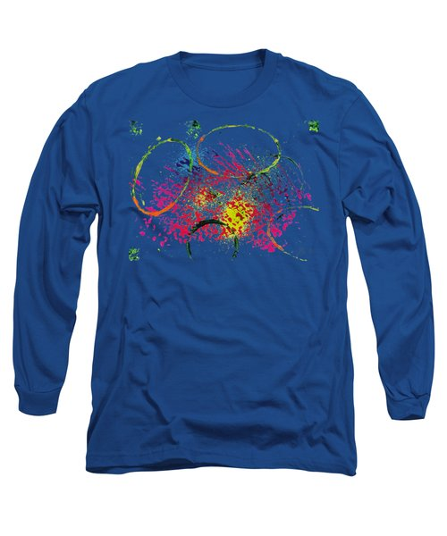 Abstract #2 Long Sleeve T-Shirt