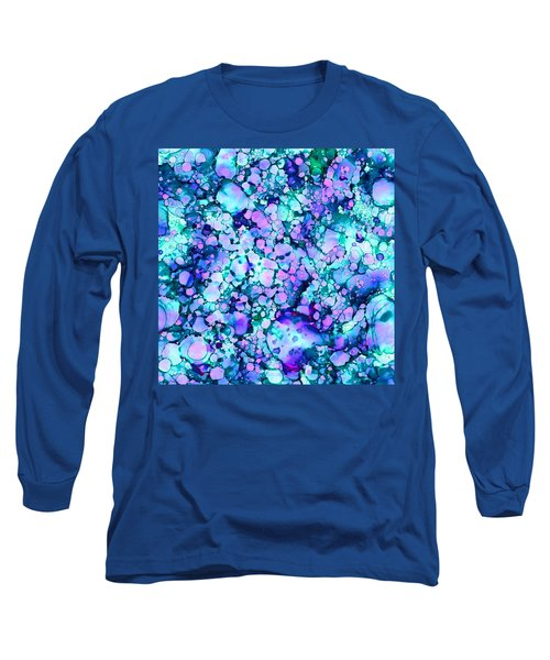 Abstract 8 Long Sleeve T-Shirt by Patricia Lintner
