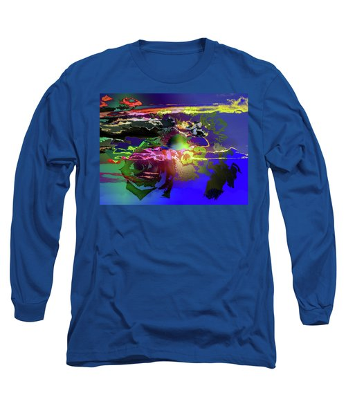 Abstract Flowers Of Light Series #11 Long Sleeve T-Shirt