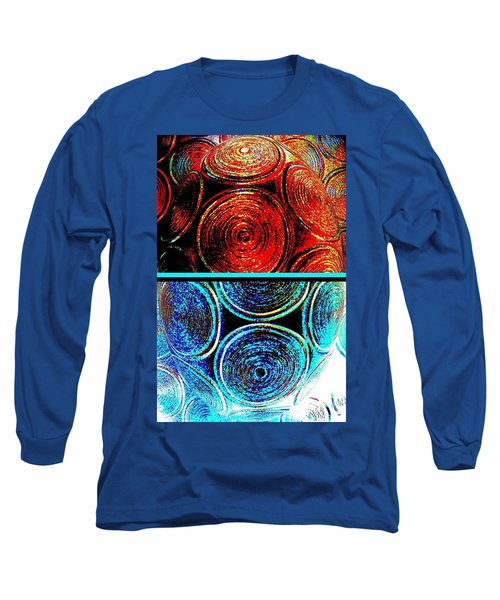Long Sleeve T-Shirt featuring the digital art Abstract Fusion 275 by Will Borden