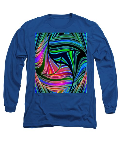 Abstract Fusion 278 Long Sleeve T-Shirt by Will Borden