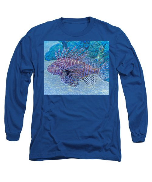 Abstract Lionfish Long Sleeve T-Shirt