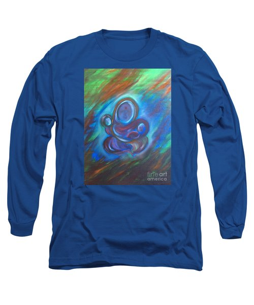 Abstract Mother Long Sleeve T-Shirt by Brindha Naveen
