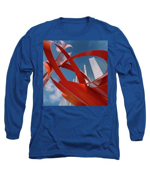 Abstract - Oklahoma City Long Sleeve T-Shirt