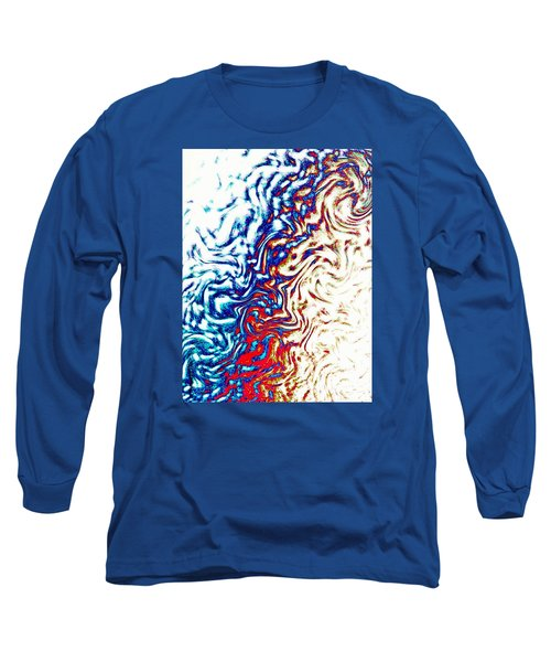 Long Sleeve T-Shirt featuring the photograph Abstract Photography 002-16 by Mimulux patricia no No