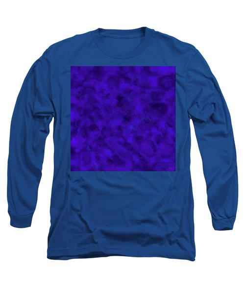 Long Sleeve T-Shirt featuring the photograph Abstract Purple 7 by Clare Bambers