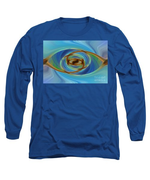 Abstract Tennis Long Sleeve T-Shirt