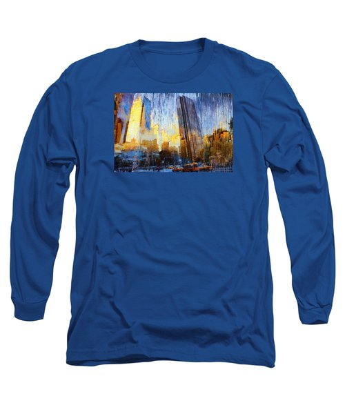 Long Sleeve T-Shirt featuring the photograph Abstract Vision by John Rivera
