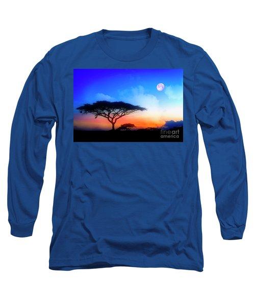 Acacia Sunset Long Sleeve T-Shirt