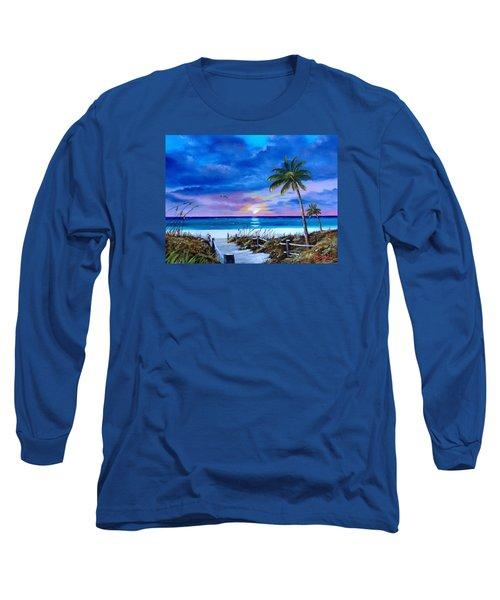 Access To The Beach Long Sleeve T-Shirt by Lloyd Dobson