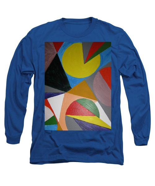Accidental Pacman Long Sleeve T-Shirt by Barbara Yearty