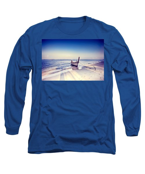 After A Hard Day Long Sleeve T-Shirt