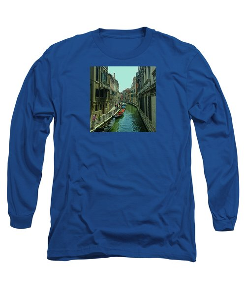 Long Sleeve T-Shirt featuring the photograph Afternoon In Venice by Anne Kotan