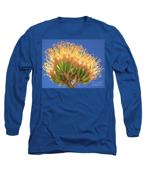 Agave Bloom Long Sleeve T-Shirt by Donna Greene
