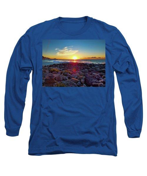Alassio Sunset Long Sleeve T-Shirt by Karen Lewis