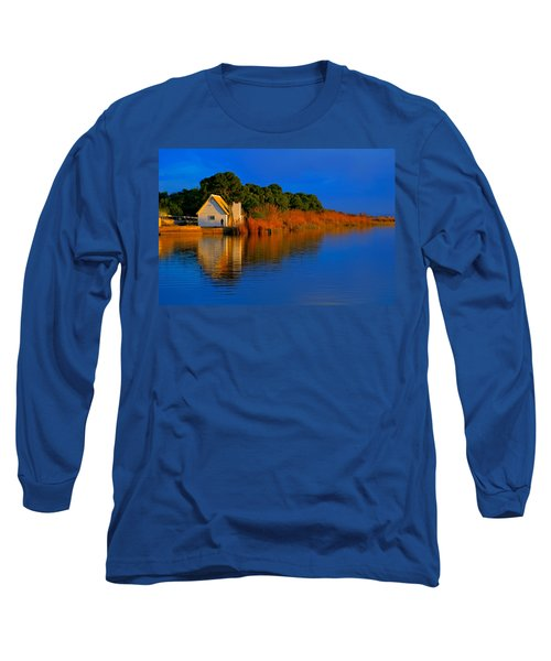 Albufera Blue. Valencia. Spain Long Sleeve T-Shirt