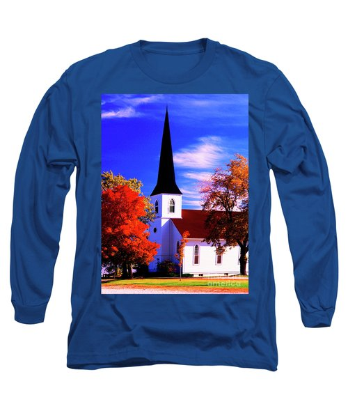 Algonquin Rd Church St Johns United  Long Sleeve T-Shirt