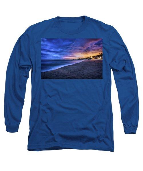 Aliso Beach Lights Long Sleeve T-Shirt